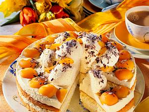 Marzipan-Marillen-Torte Rezept