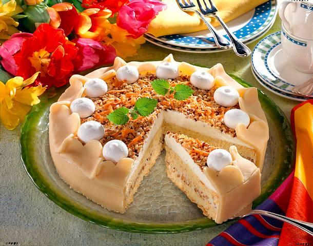 Marzipan-Möhren-Torte Rezept