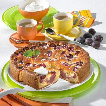 Marzipan-Pflaumen-Kuchen Rezept
