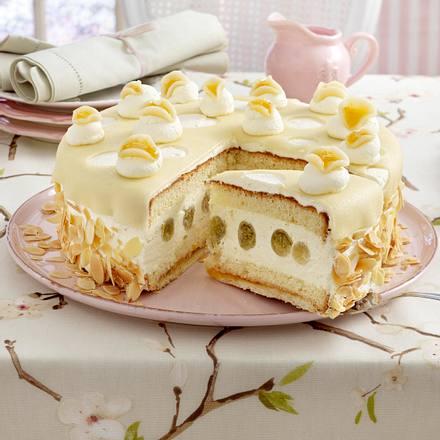 Marzipan-Stachelbeer-Torte Rezept
