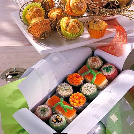 Marzipan-Sushi Rezept