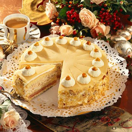 Marzipan-Torte Rezept