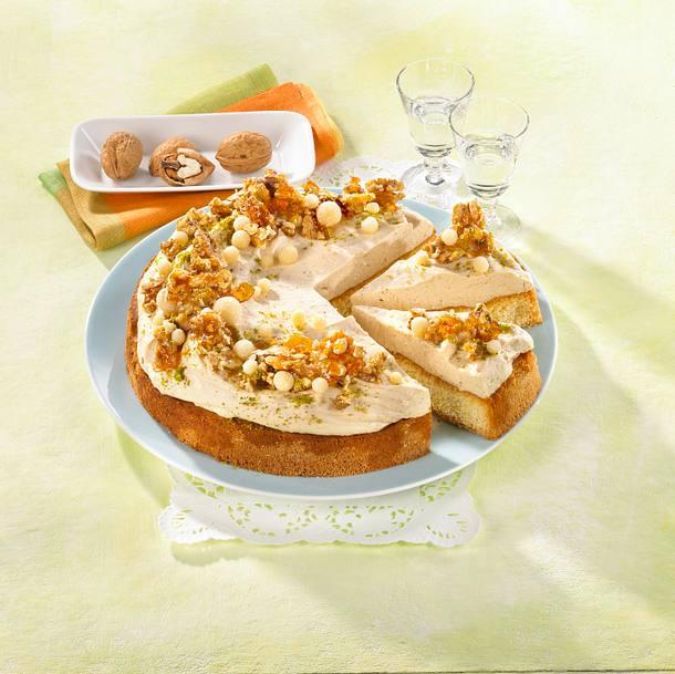 Marzipan-Walnuss-Kuchen Rezept