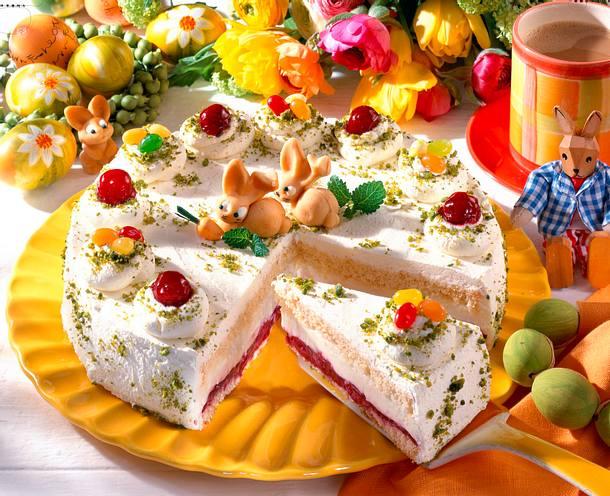Mascarpone-Torte mit Kirschen Rezept