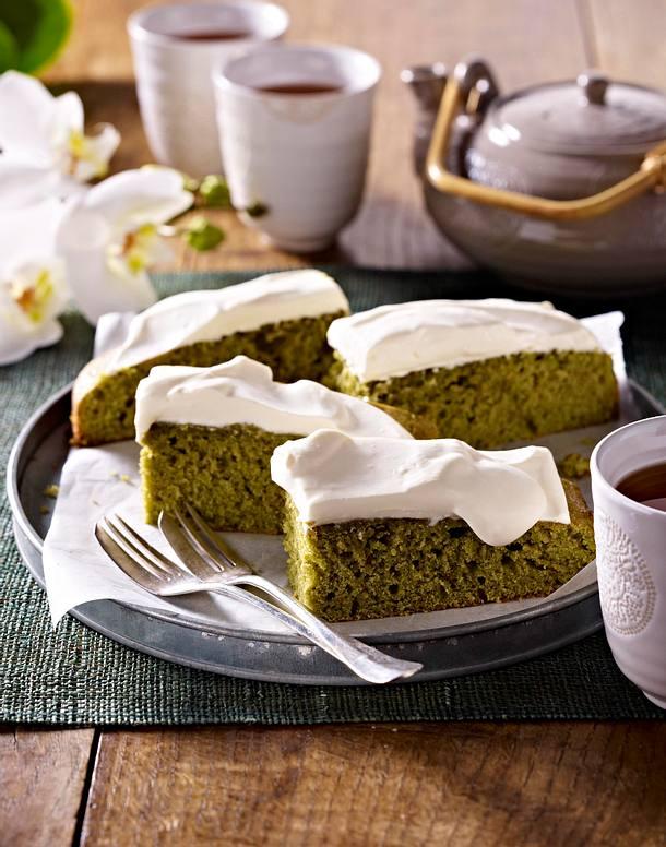 Matcha-Tee-Kuchen Rezept | LECKER