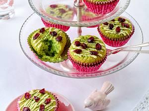 Matcha-Tee-Muffins Rezept