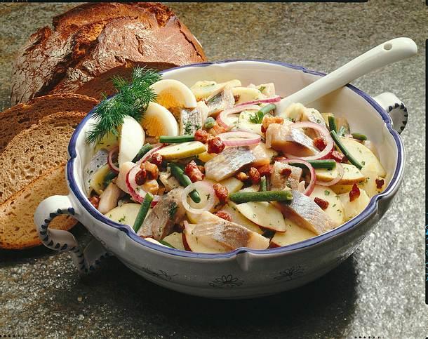 Matjes-Kartoffelsalat Rezept