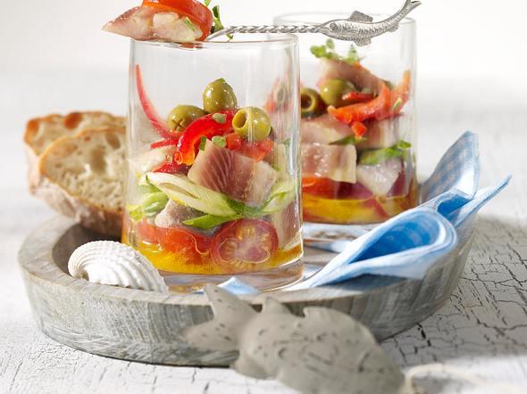 Matjes mediterran Rezept