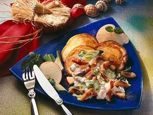 Matjes mit Quarkpfannkuchen Rezept