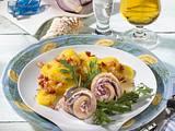 Matjes-Röllchen mit Kartoffelsalat Rezept
