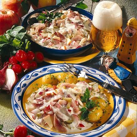 """Matjes-Salat """"Hausfrauenart"""" Rezept"""
