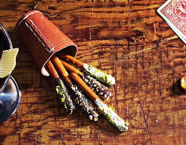 Maxi-Schoko-Nuss-Zigarren Rezept