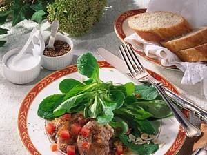 Medaillons auf Nuss-Salat (Diabetiker) Rezept