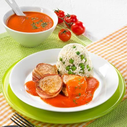 Medaillons in Tomatensoße Rezept