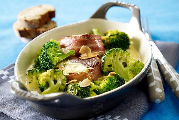 Medaillons mit Mandelbroccoli Rezept