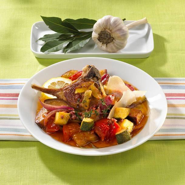 Mediterraner Gemüsetopf Rezept
