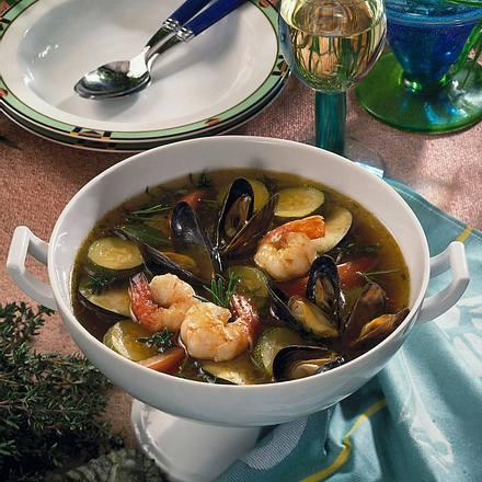 Meeresfrüchte-Topf Rezept