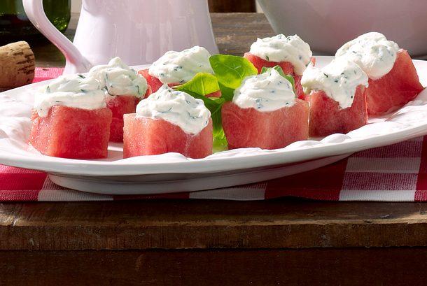 Melone con Ricotta Rezept