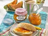 Melone-Pfirsich-Konfitüre Rezept