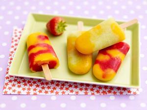 Melonen-Aprikoseneis mit Vanille Rezept