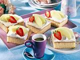 Melonen-Blechkuchen (Diabetiker) Rezept