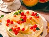 Melonen-Frischkäse-Torte (Diabetiker) Rezept