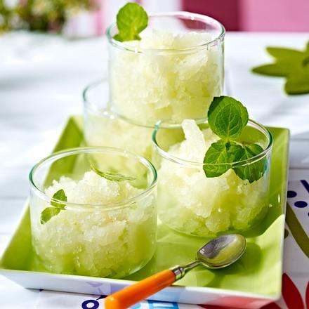 Melonen-Granita Rezept