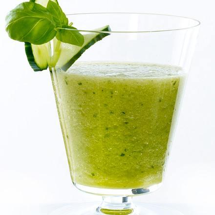 Melonen-Gurken-Prosecco Rezept
