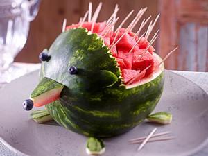 Melonen-Igel Rezept