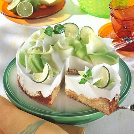 Melonen-Joghurt-Torte Rezept