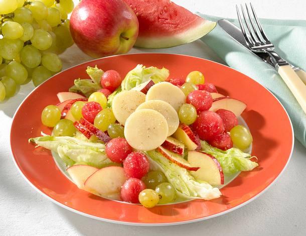 Melonen-Käse-Salat Rezept