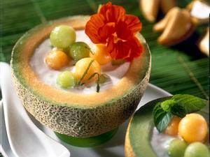 Melonen-Kaltschale Rezept