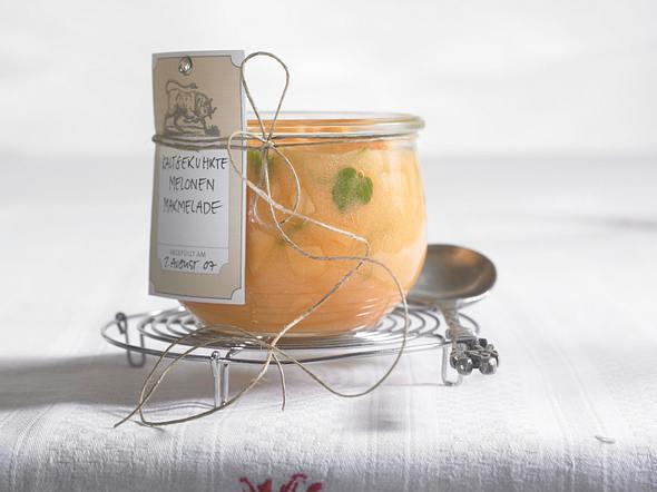 Melonen-Limetten-Marmelade Rezept