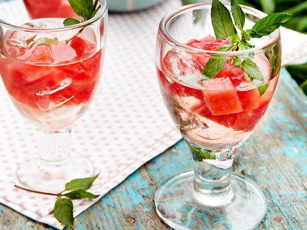 Melonen-Minz-Cocktail Rezept