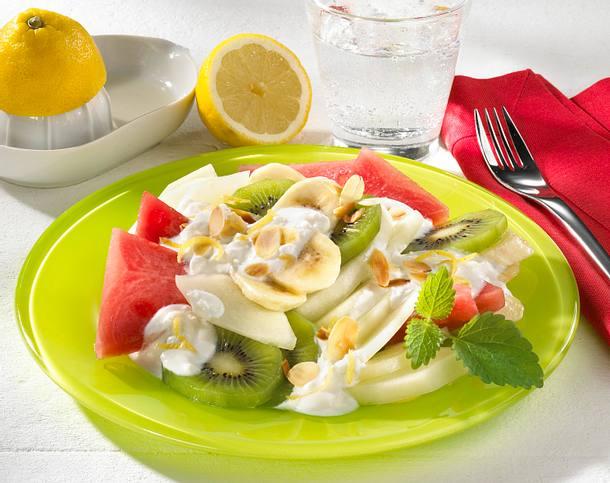 Melonen-Obst-Salat Rezept