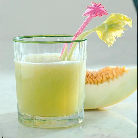 Melonen-Sellerie-Drink Rezept