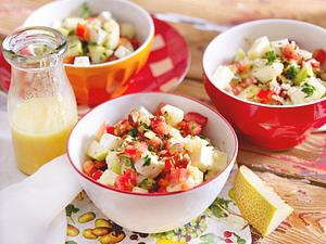 Melonen-Sommersalat Rezept