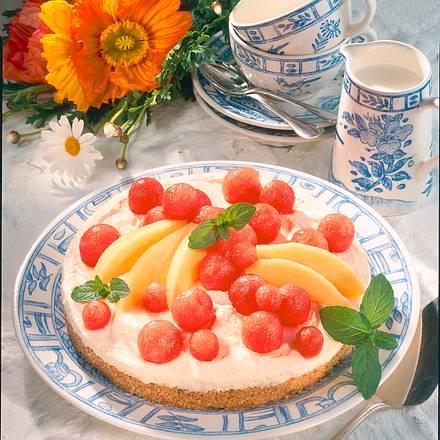 Melonen-Torte Rezept