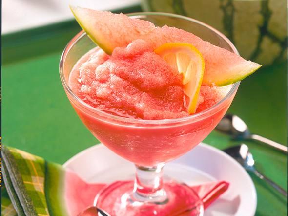 Melonen-Zitronen-Sorbet Rezept