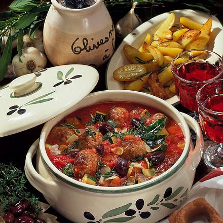 Mettbällchen in Tomatensoße Rezept