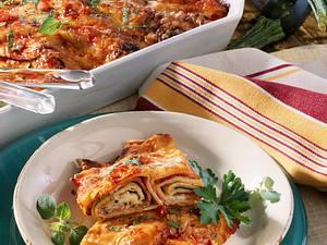 Mexikanische Enchiladas mit Zucchini Rezept