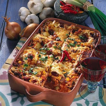 Mexikanische Lasagne Rezept