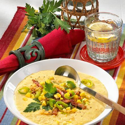 Mexikanische Maiscreme-Suppe Rezept