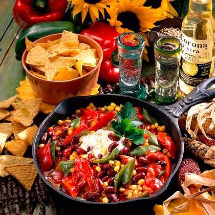 Mexikanische Paprikapfanne Rezept