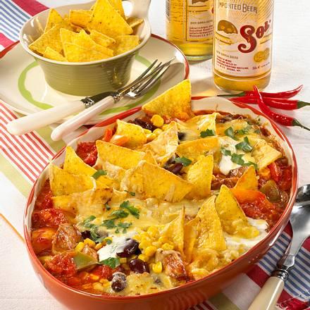 Mexikanischer Tomatenauflauf Rezept