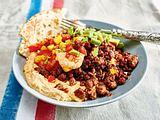 Mezze-Platte für Fleischverliebte Rezept
