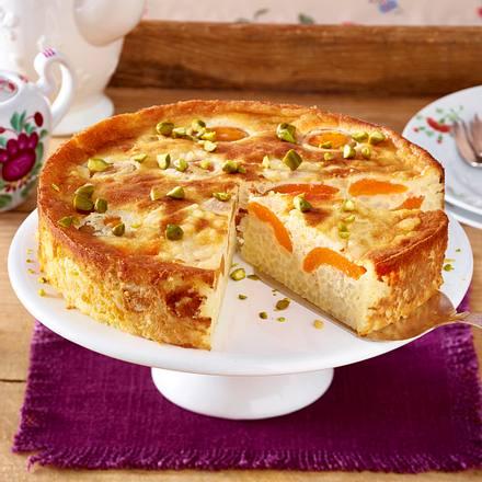 Milchreis-Aprikosen-Torte Rezept