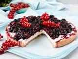 Milchreis-Tarte mit Beeren Rezept