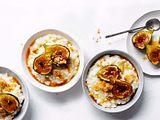 Milchreis-Töpfchen mit Honigfeigen rezept