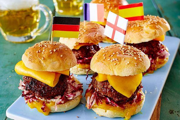 Mini-Burger mit Mango und Radicchio Rezept